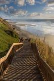 Playa en San Diego Imagen de archivo