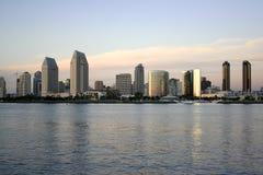 Playa en San Diego céntrica, Ca Foto de archivo libre de regalías