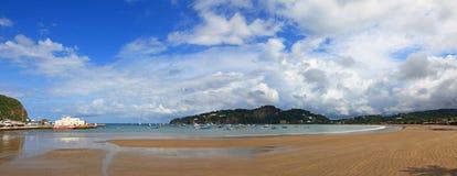 Playa en San Juan del Sur fotografía de archivo