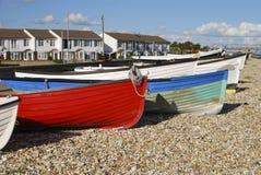 Playa en Selsey. Sussex del oeste. Reino Unido Fotografía de archivo libre de regalías
