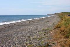 Playa en Silecroft Imagen de archivo