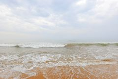 Playa en Sri Lanka foto de archivo