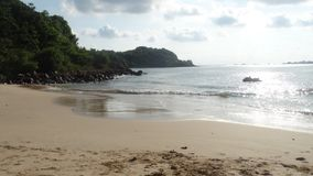 Playa en Sri Lanka Imagenes de archivo