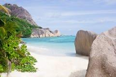 Playa en sunlite fotografía de archivo