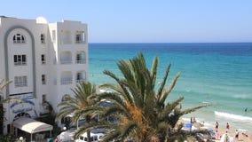 Playa en Túnez