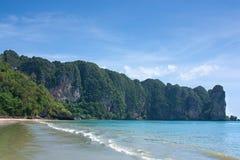 Playa en Tailandia Imágenes de archivo libres de regalías