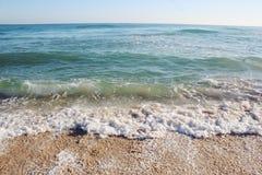 Playa en Trípoli, Libia imagen de archivo