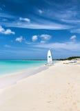 Playa en Turks and Caicos Islands Imágenes de archivo libres de regalías