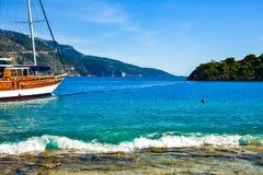 Playa en Turquía Fotografía de archivo