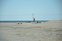 Playa en Venus, Rumania - 2018 fotografía de archivo libre de regalías