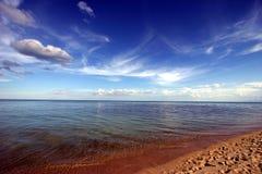 Playa escénica   Fotografía de archivo