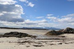 Playa escocesa Fotos de archivo