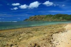 Hidden beach, puerto rico stock image. Image of headland ...