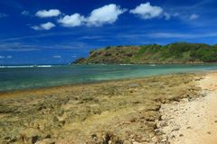 Playa Escondido (versteckter Strand) stockbilder