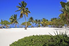 Playa Esmeralda - παραλία σε Holguin, Κούβα Στοκ φωτογραφία με δικαίωμα ελεύθερης χρήσης