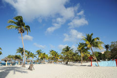 Playa Esmeralda Stock Photo