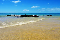 Playa Esmeralda in Fuerteventura, Canary Islands, Spain Stock Images