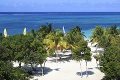 Playa Esmeralda, Holguin, Cuba Stock Afbeelding