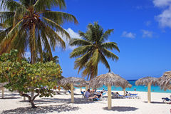 Playa Esmeralda, Holguin, Cuba Royalty Free Stock Photography