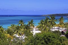 Playa Esmeralda, Holguin, Kuba Royaltyfri Bild