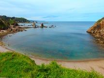 Playa España de Silencio Foto de archivo libre de regalías