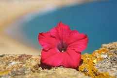 Playa española imagen de archivo libre de regalías