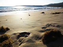 Playa española Imágenes de archivo libres de regalías