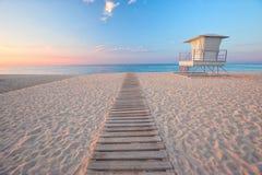 Playa española hermosa Foto de archivo