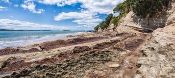 Playa estrecha del cuello Imagen de archivo libre de regalías