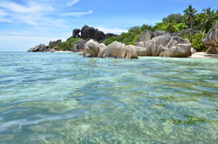 Playa exótica Foto de archivo