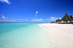 Playa exótica Imagenes de archivo
