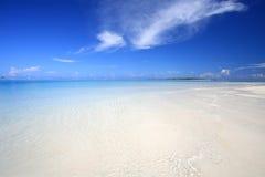 Playa exótica Fotos de archivo libres de regalías