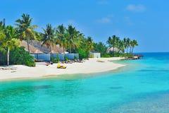 Playa exótica de lujo Fotos de archivo