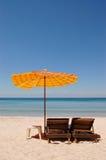 Playa exótica del día de fiesta Foto de archivo libre de regalías