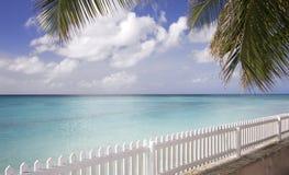 Playa exótica en Barbados Fotos de archivo libres de regalías
