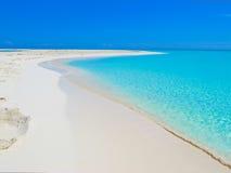 playa för paraiso för caribbeanscayocuba largo arkivfoto