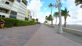 Playa FL de Hollywood metrajes