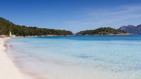 Playa Formentor Stock Afbeeldingen