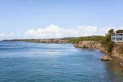 Playa Forti和Playa Grandi,库拉索岛 免版税库存图片