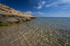 Playa Gr Playazo, Spanje Stock Afbeeldingen