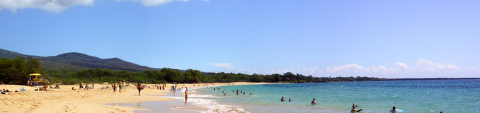 Playa grande Imagen de archivo