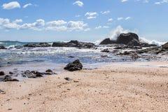 Playa grandioso, Costa Rica Fotografia de Stock