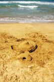 Playa, Griego, el Crete foto de archivo libre de regalías