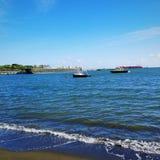 Playa Guayanilla Tablado στοκ εικόνα με δικαίωμα ελεύθερης χρήσης