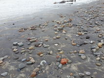 Playa guijarrosa fotos de archivo