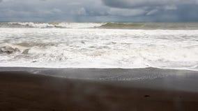Playa Harmosa nära Manuel Antonio Park Arkivbilder