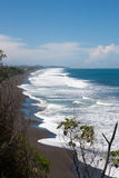 Playa Harmosa near Manuel Antonio Park. Manuel Antonio National Park nature in Costa Rica royalty free stock photography