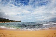 Playa hawaiana Foto de archivo