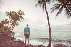 Playa hawaiana Fotografía de archivo libre de regalías