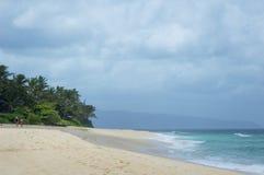 Playa hawaiana Imagen de archivo libre de regalías